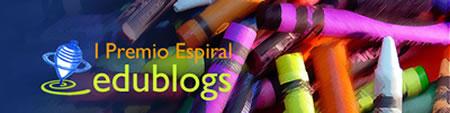 I Premio Espiral de Edublogs